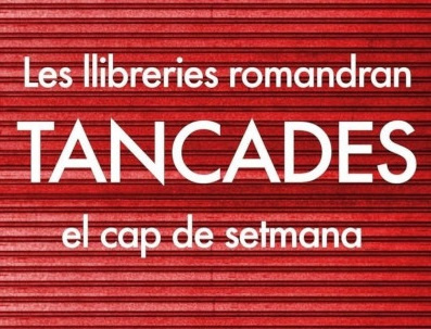 The Generalitat forces bookstores to close on weekends